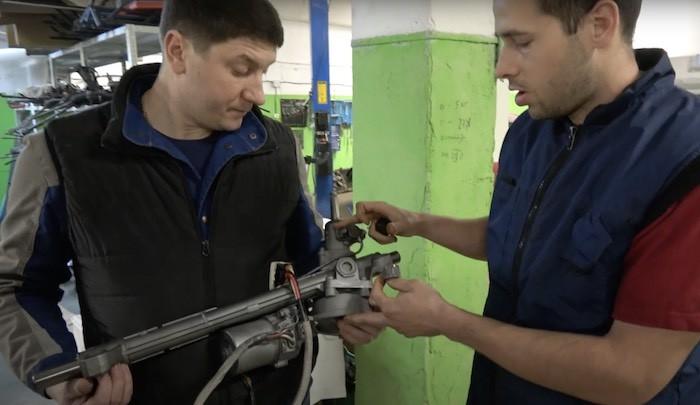 Полезная информация про ремонт рулевого управления